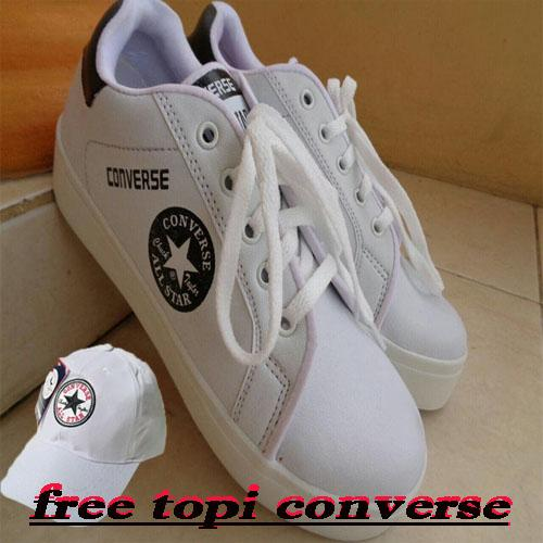 All Star Converse Trendy With Free Topi Converse