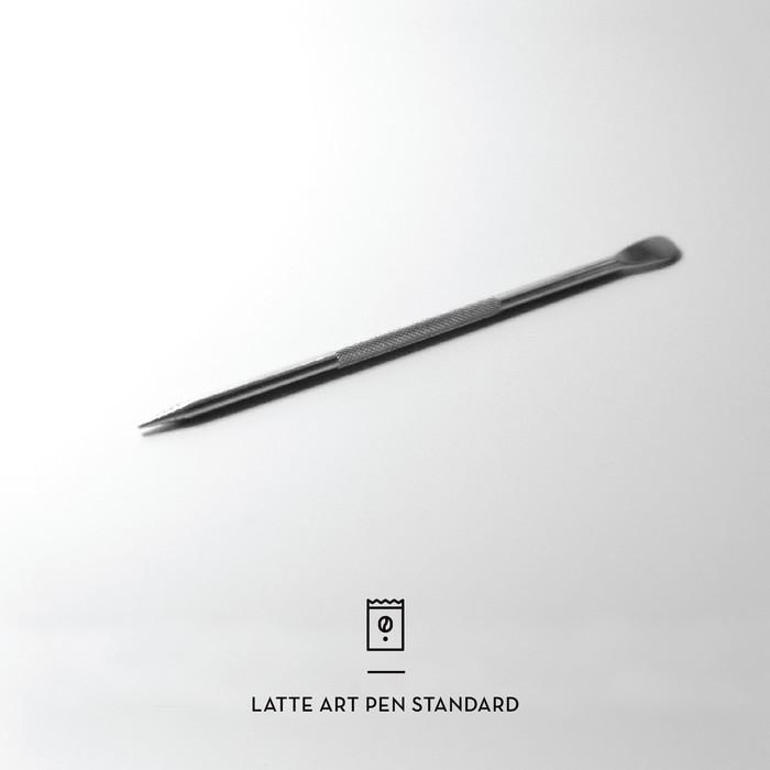 La-Nstd  Coffee Latte Art Pen Needle Alat Hias Kopi Cappuccino Stainl - N7vwnq