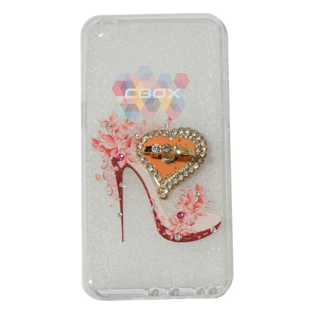Softshell Animasi High Heels Modis & Love Phone Holder Ring .
