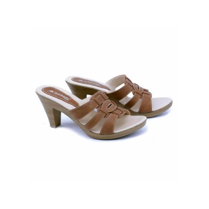 Sandal Hak Casual Wanita Garsel Shoes GIA 8267