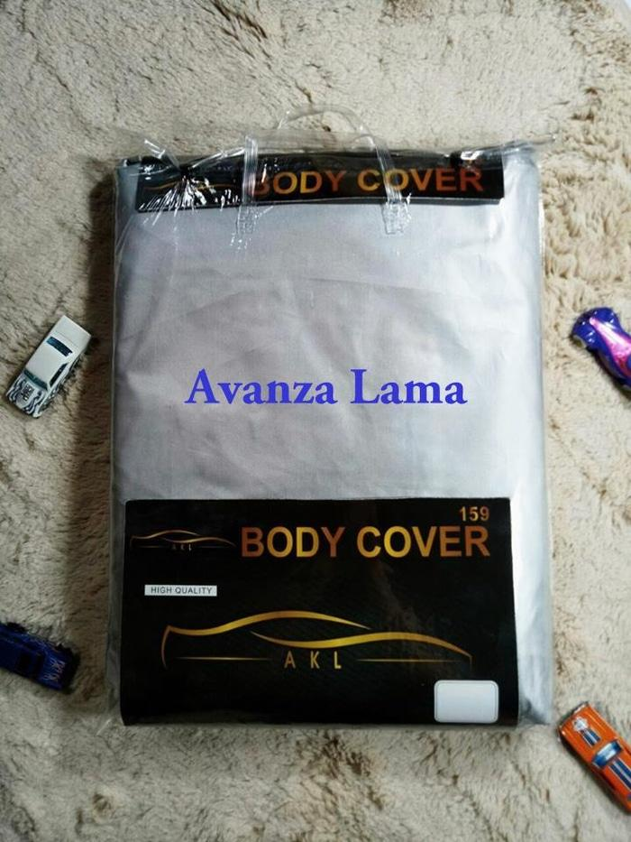 Avanza Lama Silver Coating Body Cover Mobil/Sarung Mobil/Selimut Mobil - Ps9pnX