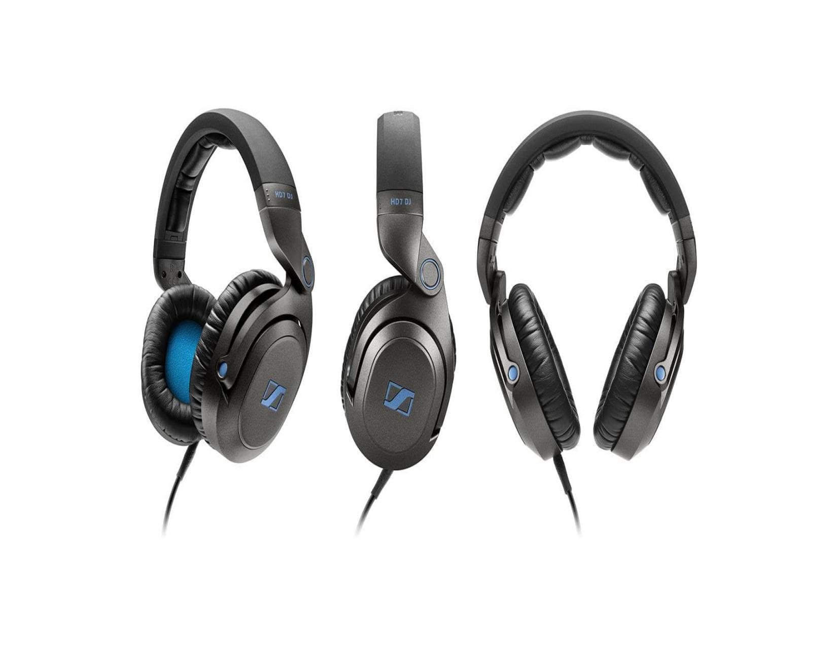Sennheiser Hd 7 Dj Headphones Hitam Daftar Harga Terlengkap Indonesia Hd7 Closed Over Ear Headphone