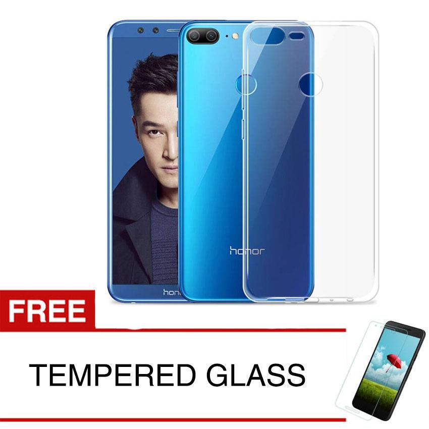 Crystal Case for Huawei Honor 9 Lite - Clear Hardcase + Gratis Tempered Glass