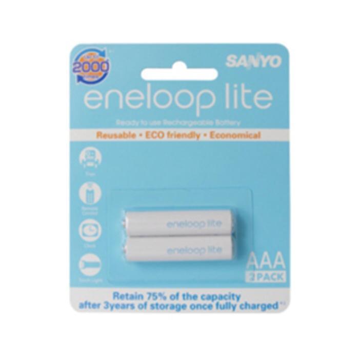 BEST SELLER - Baterai Sanyo Eneloop lite AAA 600mAh rechargeable charge battery A3