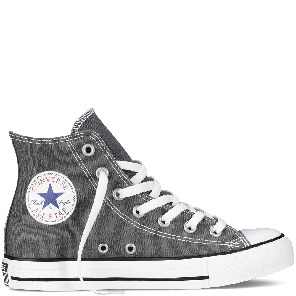 Converse Chuck Taylor All Star Classic Colour high Top Sepatu Sneakers - abu abu