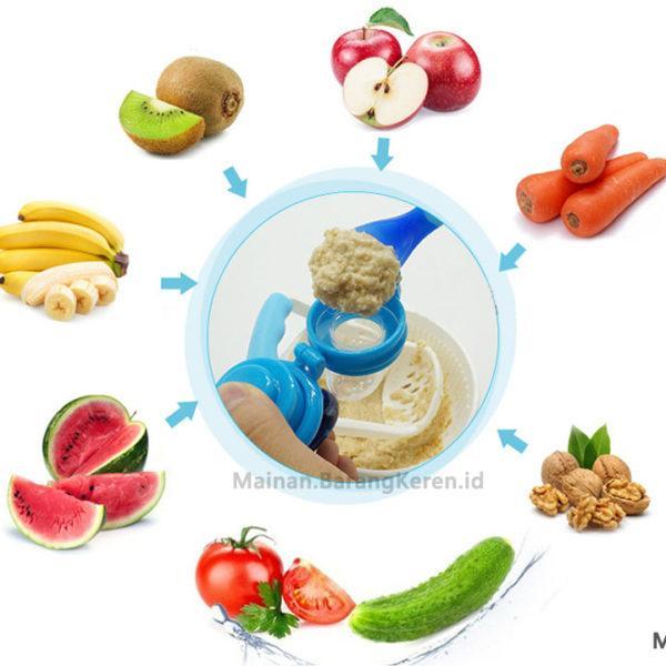 Makanan Susu Feeder Nibbler Feeding Puting Aman Perlengkapan Bayi Puting Dot. Source .