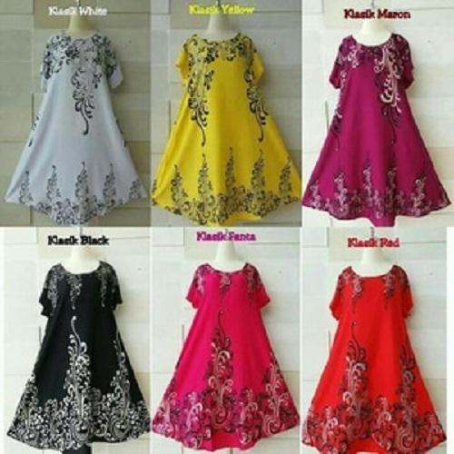 DASTER BALI JUMBO / BAJU HAMIL / MINI DRESS BIG SIZE / SUPER JUMBO / daster cantik / motif / adem / ringan