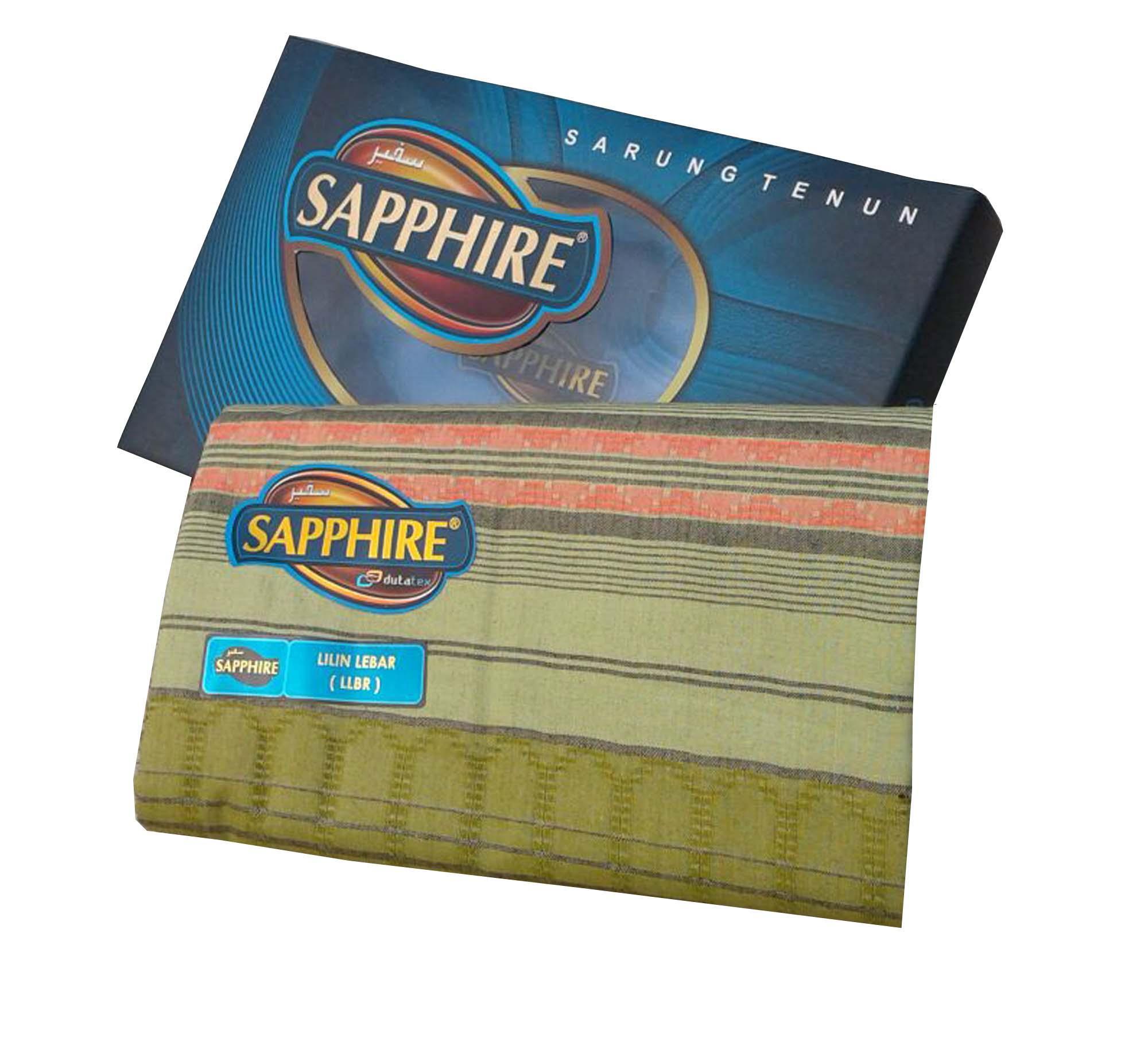 Diky/ Sarung Pria/ Sarung Sapphire/ Sarung Tenun/ Sarung 100% Indonesia/ Sarung Pekalongan/ Sarung Simple/Sarung motif lilin lebar