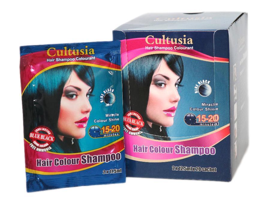 Cltusia Shampo Blue Black 25 ml (3PCS)
