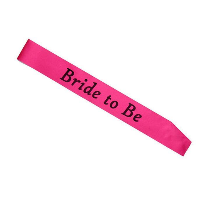 O/43 Jual Selempang Bridal Shower Bride To Be Party