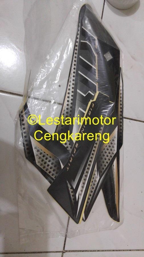 Striping Lis/Lis Body/Stiker Motor Rxking 2005 Hitam