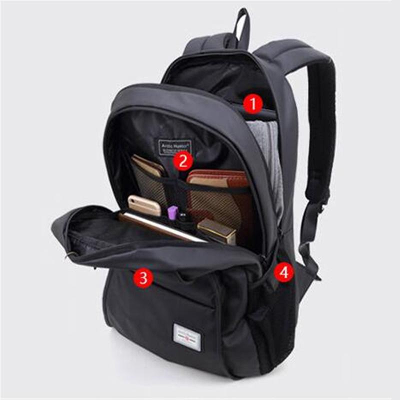 Arctic Hunter Tas Ransel Laptop Premium Executive Winter Oxford Backpack AH-WR - Hitam ...