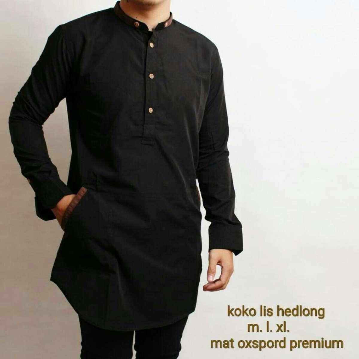 Batik Bordir Lengan Pendek Lebaran Hari Raya Pengajian ZO17 KK85 Kemeja Fashion SHOHIB Baju Koko Kemeja