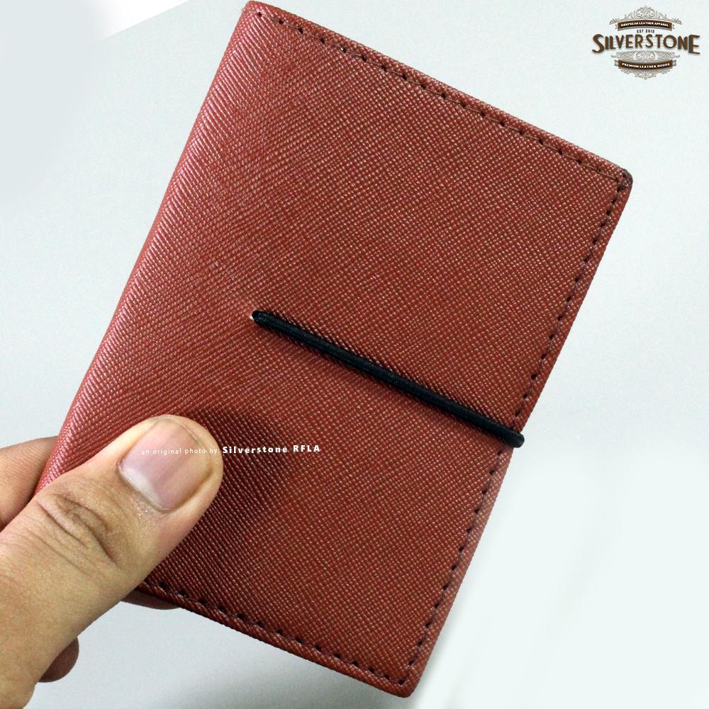 Fitur Dompet Pria Tipis Kulit Asli Slim Card Holder Zipper Wallet Kartu Import Branded Braun Buffel Termurah Wanita
