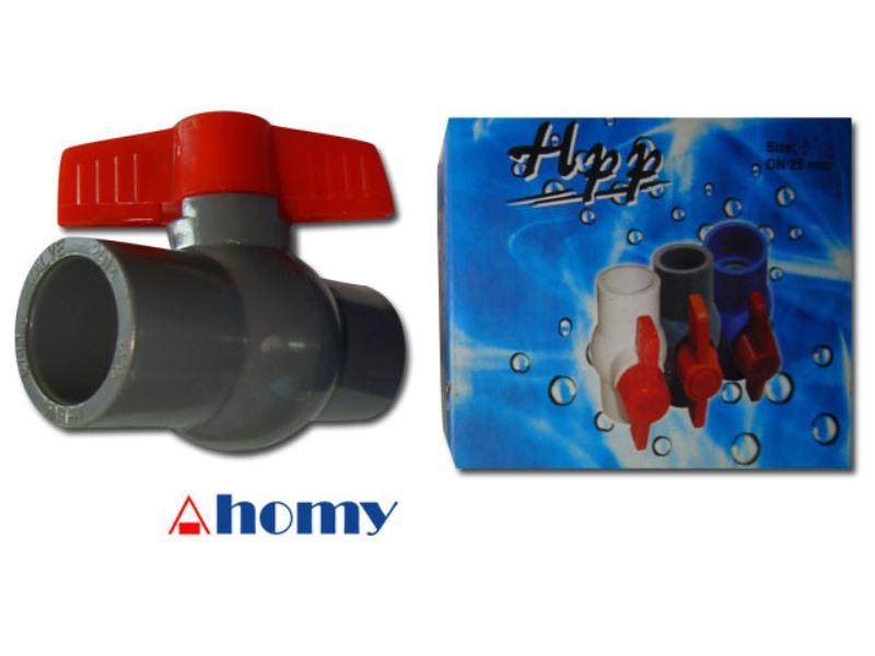 """stop kran / ball valve PVC  ¾"""" (0.75"""" / 0.75 inch) HPP"""