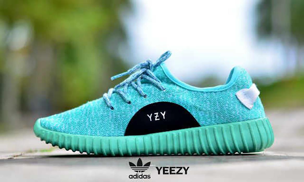 Promo Sepatu Wanita Adidas YZY Boost Olahraga Jogging Fitness Senam Lari #8 Fashion
