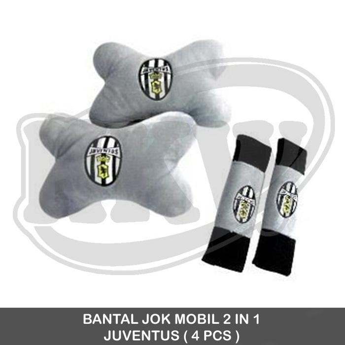 Bantal 2 In 1 Juventus Mobil Grand Max / Luxio