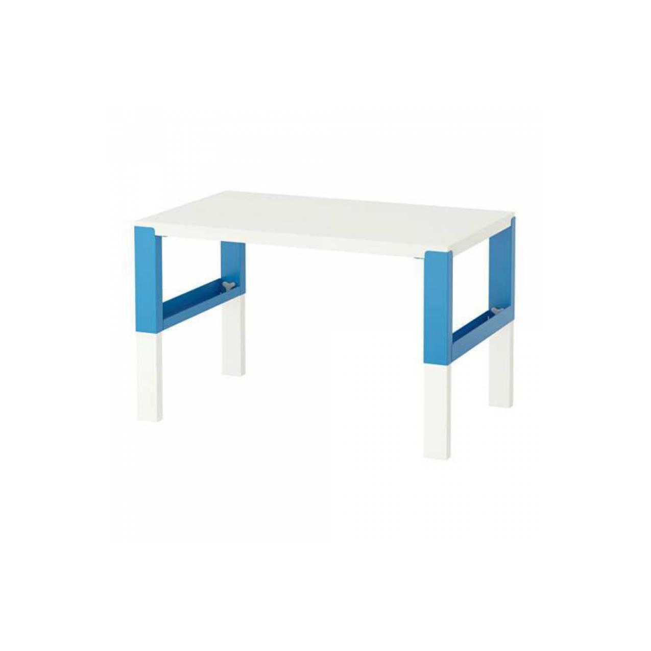 IKEA PAHL Meja Belajar Anak 96x58 cm - Biru, putih