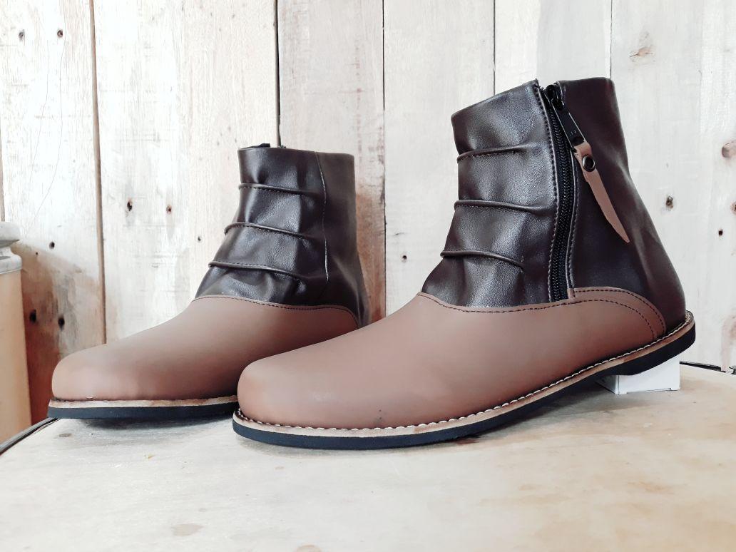 Terbaru sepatu boots  kickers rvn pria sepatu kerja kualitas premium murah
