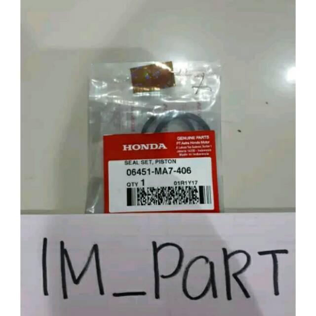 Sil Seal Seat Piston Master Rem Belakang Supra X 125 All Series Cs1 Tiger Revo 06451-Ma7-406