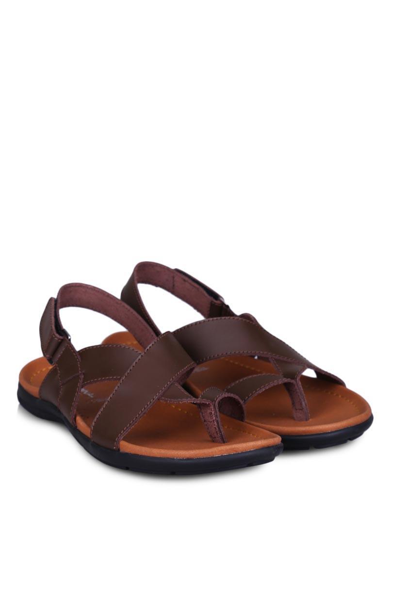 Cardinal Flip Flop & Sandal Fashion Pria Men Neil 4 Brown