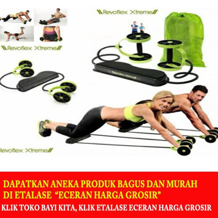 BEST SELLER!!! Alat nge gym Revoflex - Alat Fitness Revoflex Xtreme - meruba