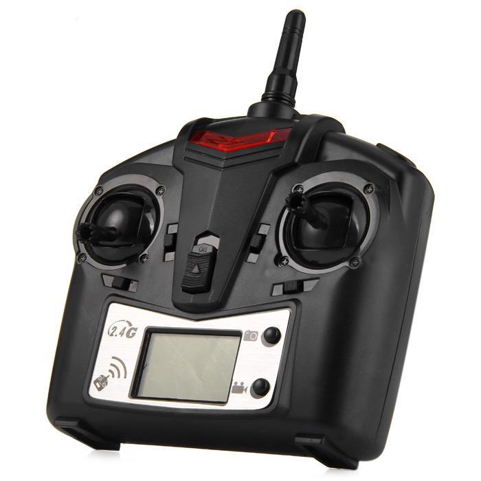HBQCWJ JJRC JJ - 1000 / 1000A H21 2.4G 6CH Transmitter with LCD Display for RC Aircraft Models