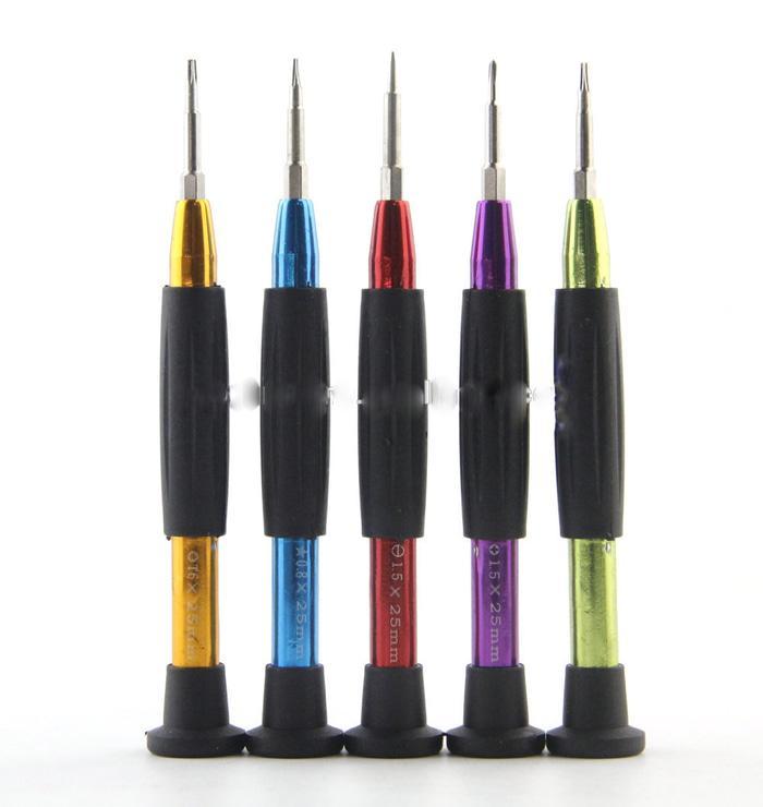 ORIGINAL - obeng 5 in 1 for handphone POWER 8222 screwdrivers set