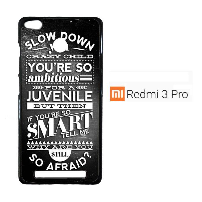 Billy Joel Typography F0781 Casing Xiaomi Redmi 3 Pro / Redmi 3S Cust