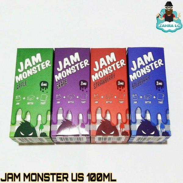 LIQUID JAM MONSTER US 100ML GORILLA CHUBBY AUTHENTIC