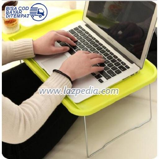 Laz COD - Meja Lipat Portable Meja Laptop Plastik Meja Portable Piknik Travel / Warna Random - Lazpedia