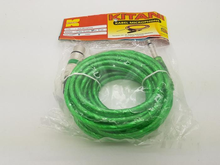 Kabel mic 5 meter Merk KITANI