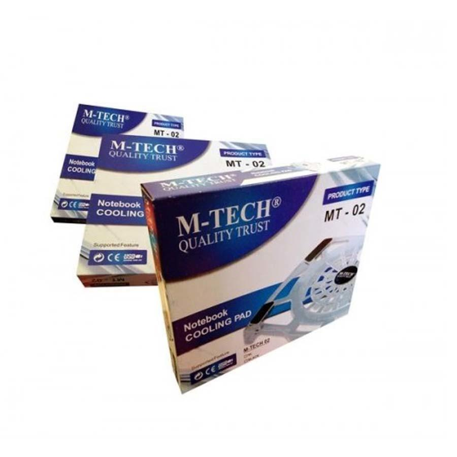 M-TECH Cooling Pad MT-02 Kipas Pendingin Laptop Big Fan .