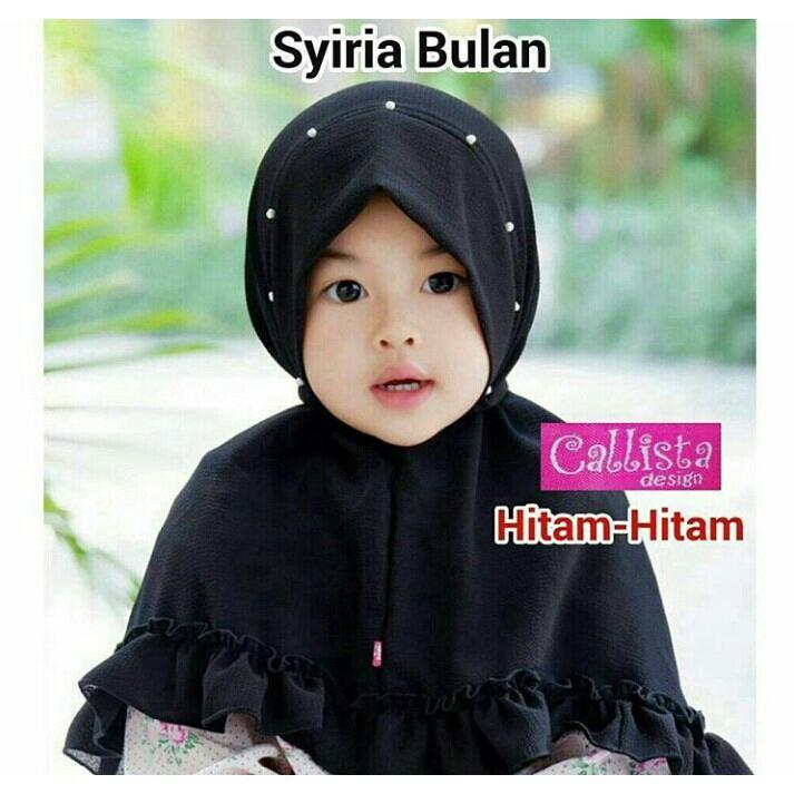 Kerudung Anak Bayi siria bulan / Jilbab Anak Bayi / Jilbab Bayi / Hijab Pashmina Instan