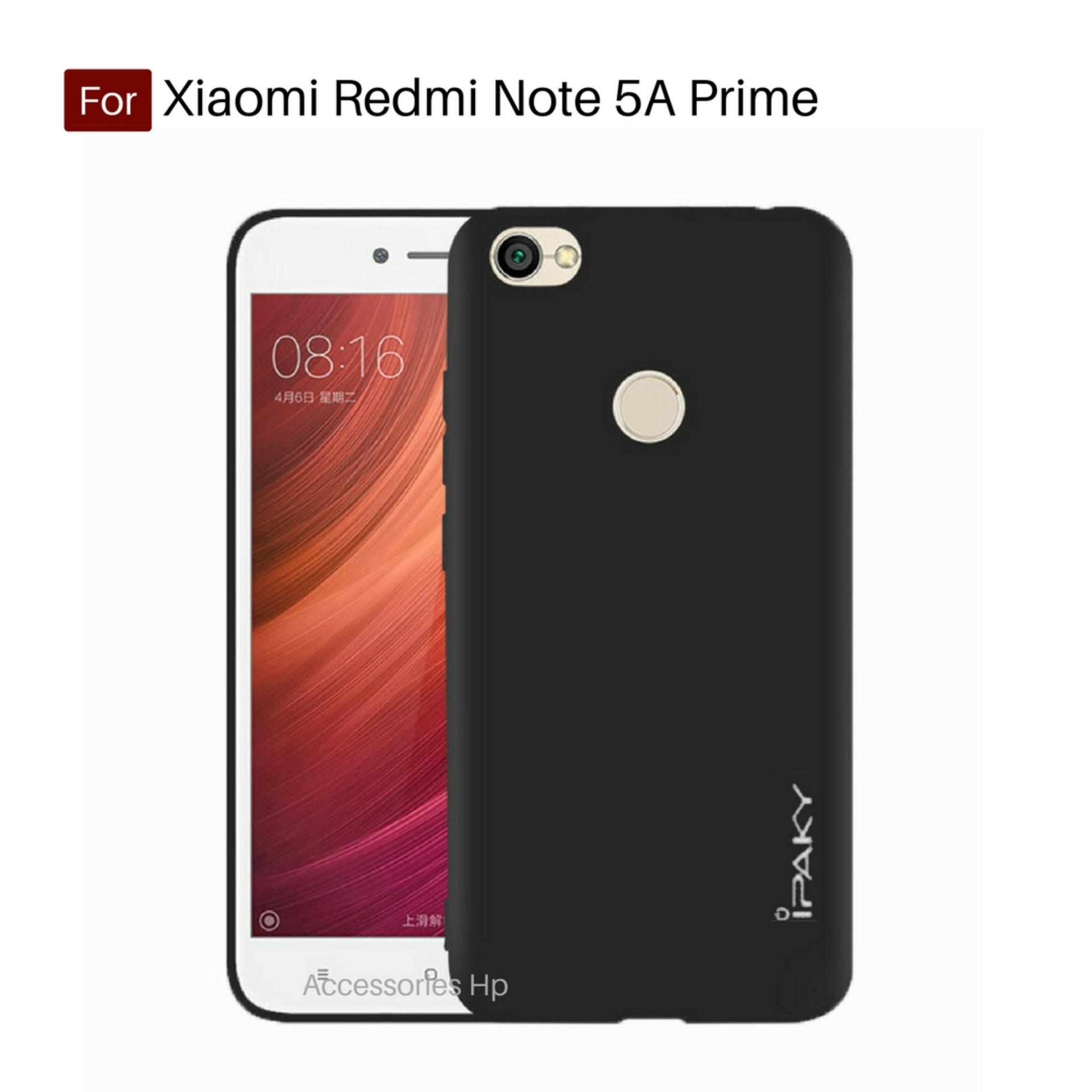 Accessories Hp iPaky Super Slim Matte Anti Fingerprint Hybrid Case For Xiaomi Redmi Note 5A Prime - Black
