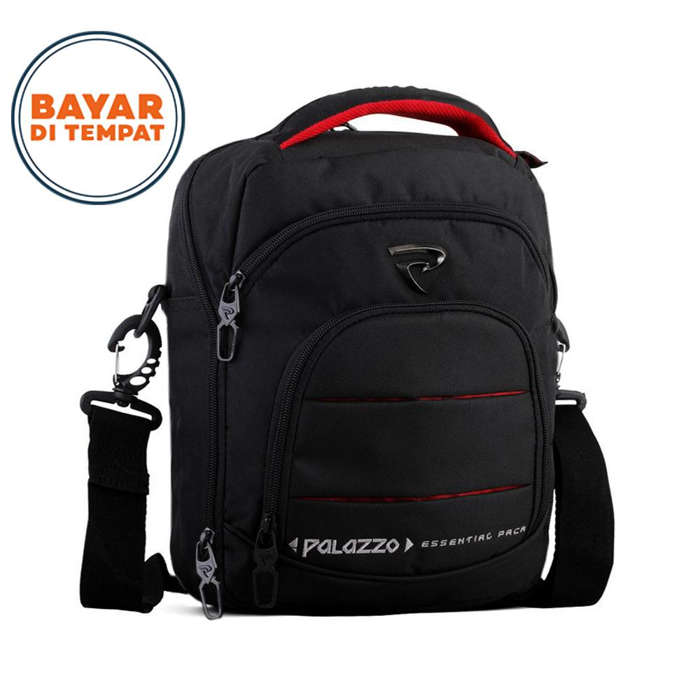Tas Selempang Palazzo Notebook 10 Inchi 39121 Original - Black