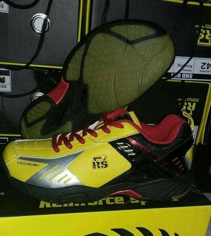 Fitur Original Rs Super Liga 803 Lime Sepatu Badminton Dan Harga ... f27aa839d6