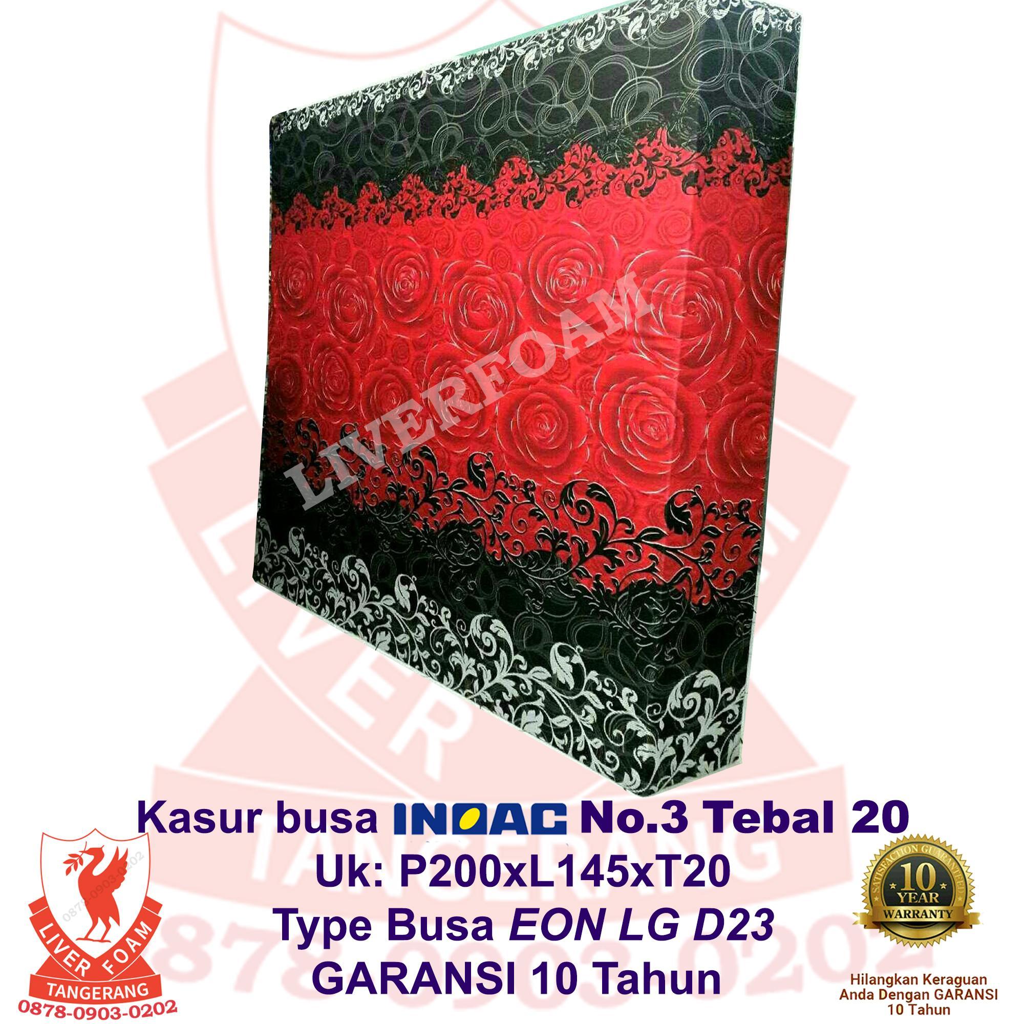 Kasur Busa Inoac No.3 Tebal 20 EON LG D23Uk 200x145x20