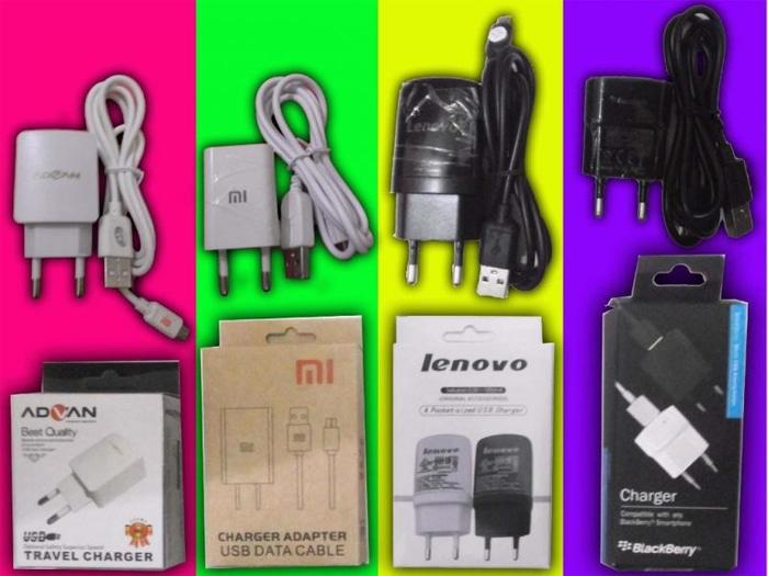 PROMO CAS USB TABLET BB NON ORI ADVAN MI LENOVO BLACKBERRY ( CHARGE + KABEL) TERLARIS