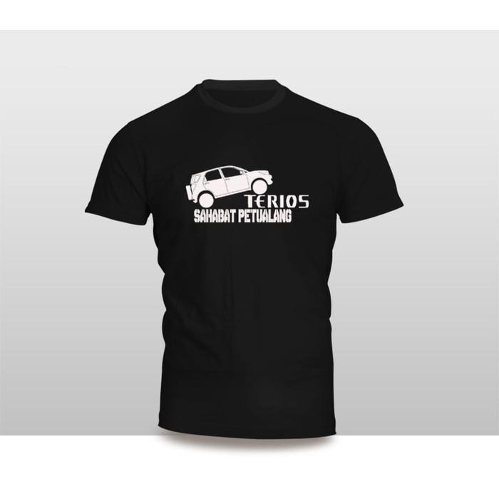 Kaos Baju Pakaian Otomotif MOBIL DAIHATSU TERIOS SAHABAT PETUALANG - Vxhr73