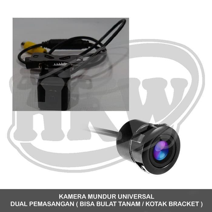 Kamera Mundur Universal Dual Pemasangan Mobil Ertiga 2011 - 2014
