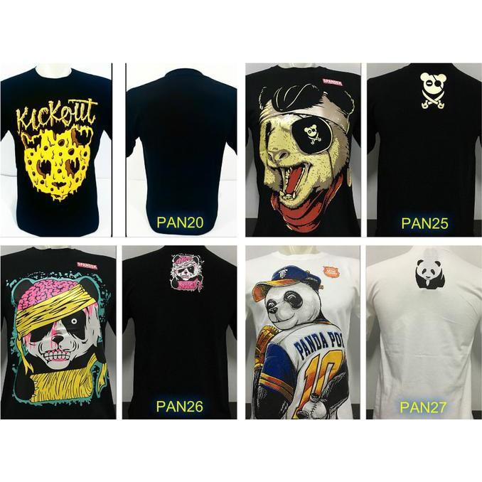 Kaos Distro Kick Out Panda Kickout - Sale Promo!!