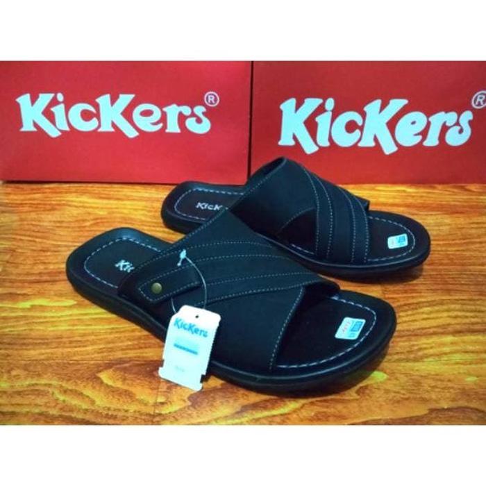 PROMO bagus asli nyaman Sandal Kickers / Sandal Sendal Slop Kickers / TERLARIS
