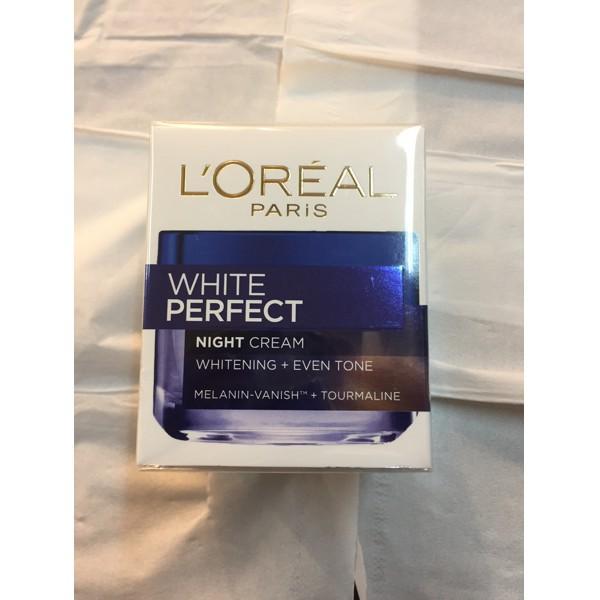 LOREAL PARIS WHITE PERFECT NIGHT CREAM 50ML -