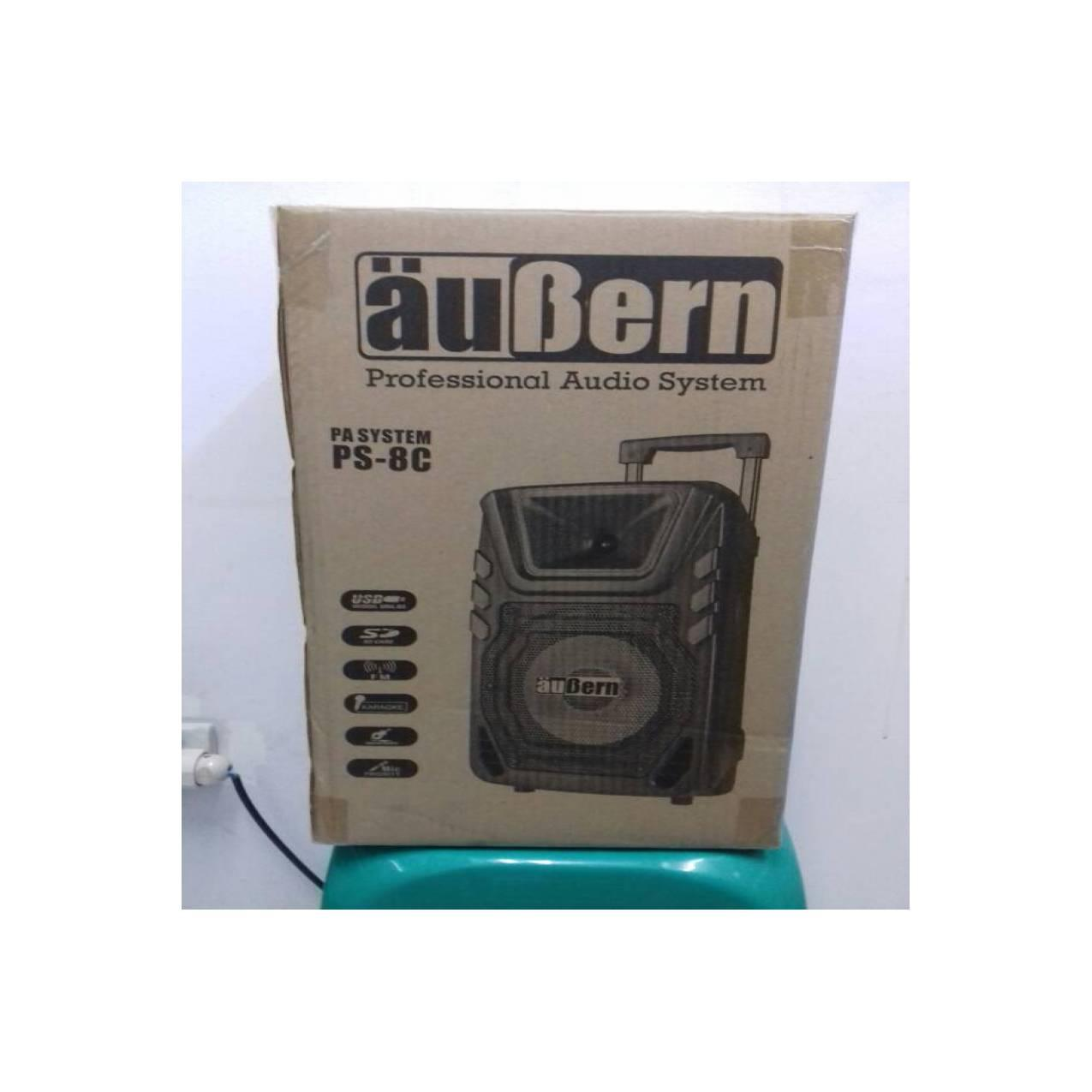 aubern PS-8 portable audio syatem