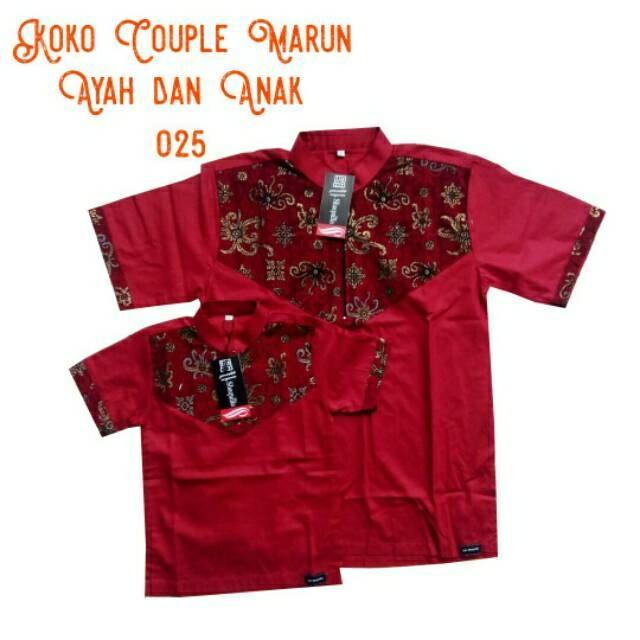 Promo Baju koko anak ayah couple termurah Fashion