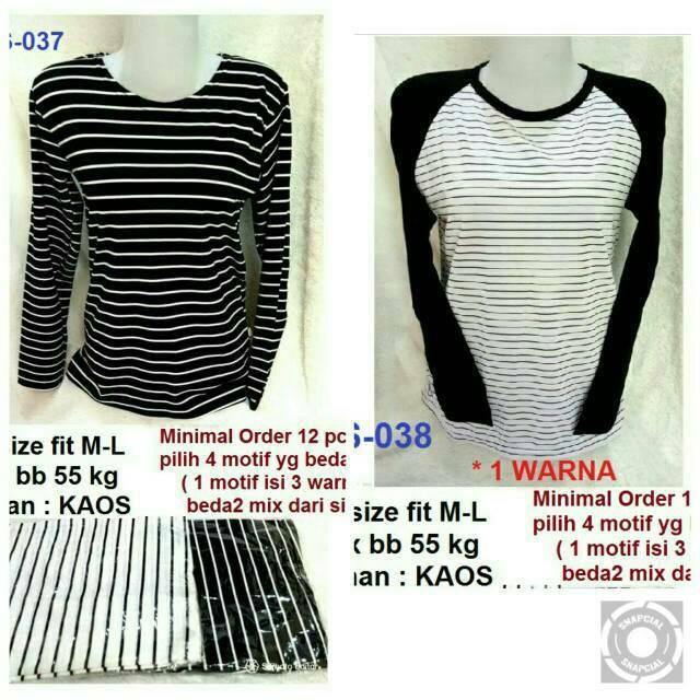 TS 037-Suplier pakaian murah baju atasan kaos tshirt terlaris cocok untuk dijual lagi grosiran