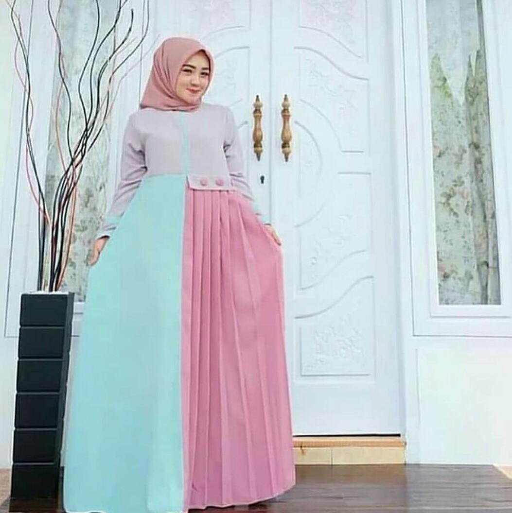 Tempat Jual Baju Muslim Wanita Long Dress Maxy Hovi Seiko Lord Jam Tangan Pria Ssa073k1 Perak Buy Sell Cheapest Ilyasshop Tasya Best Quality Product Deals
