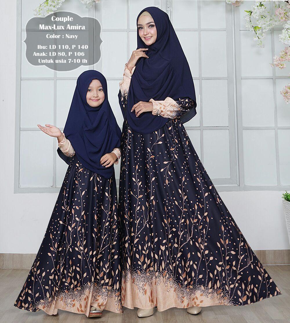 Key&kay88 gamis muslim syari maxmara lux amira ibu dan anak couple