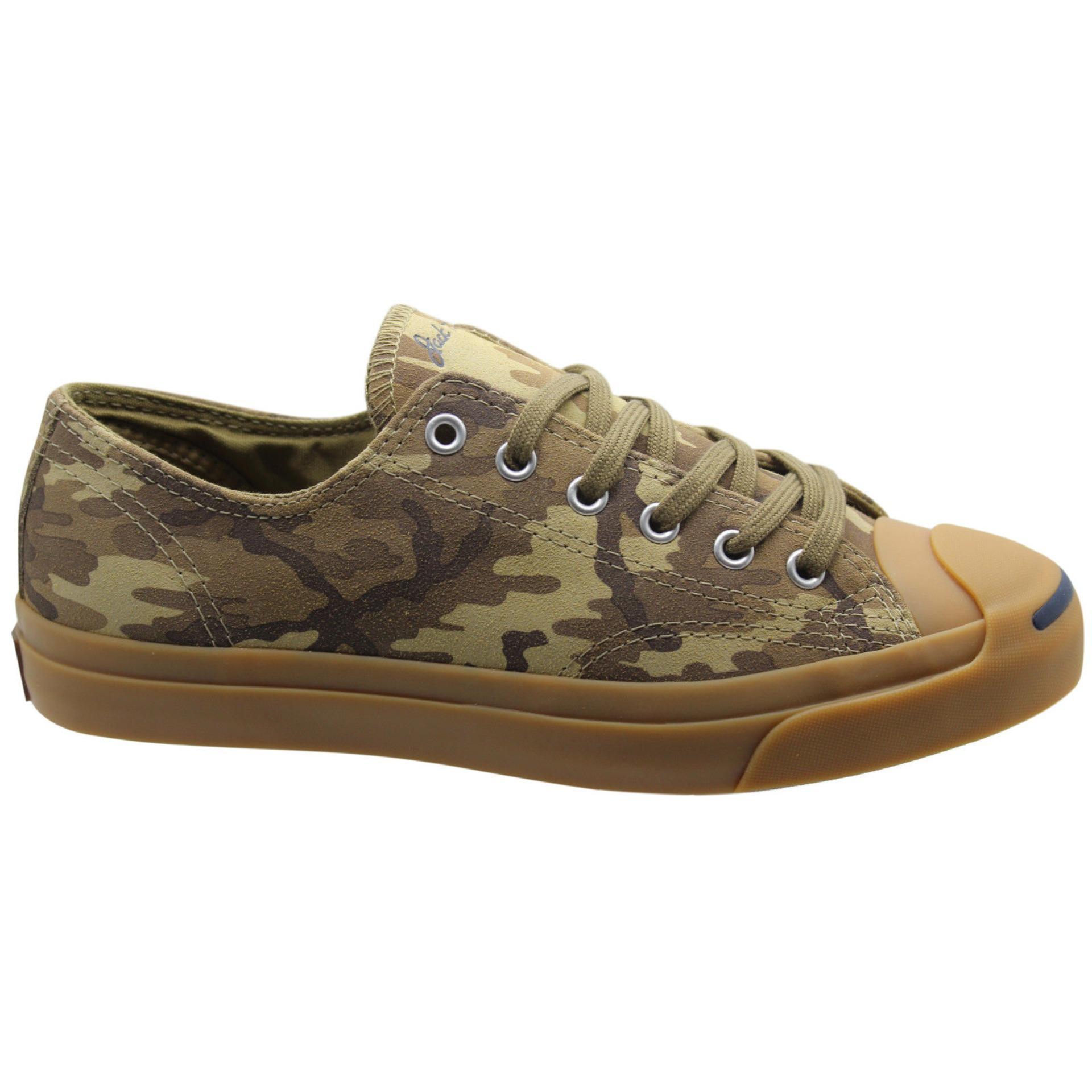 Converse Jack Purcell LTT OX Lead Gray Sepatu Sneakers Pria